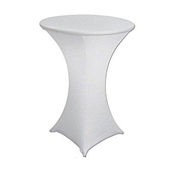 Tall Round Table Ibiza Wedding