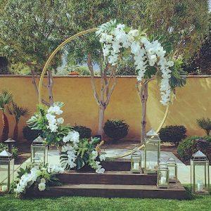 Ceremony Frames, Arches & Gazebos
